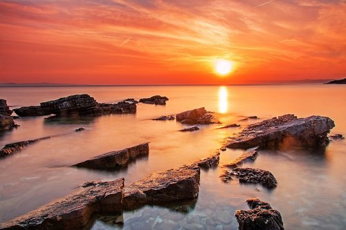 MirBal zalazak sunca