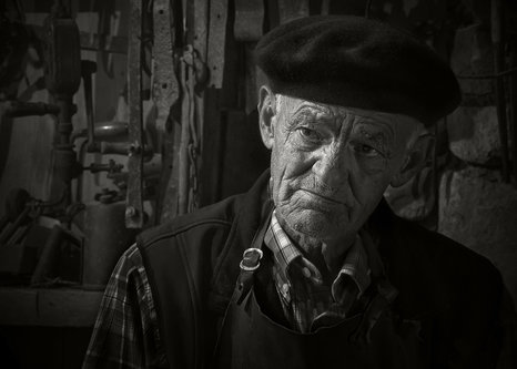Mirsad Old blacksmith 1