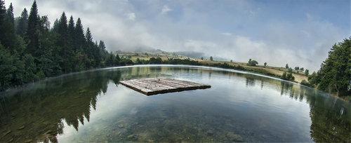 Mirsad Splav na Kukavicijem jezeru