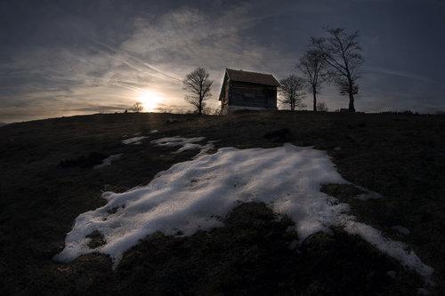 Mirsad Zalazak na Galici sa akcentom na krpu zaostalog snijega