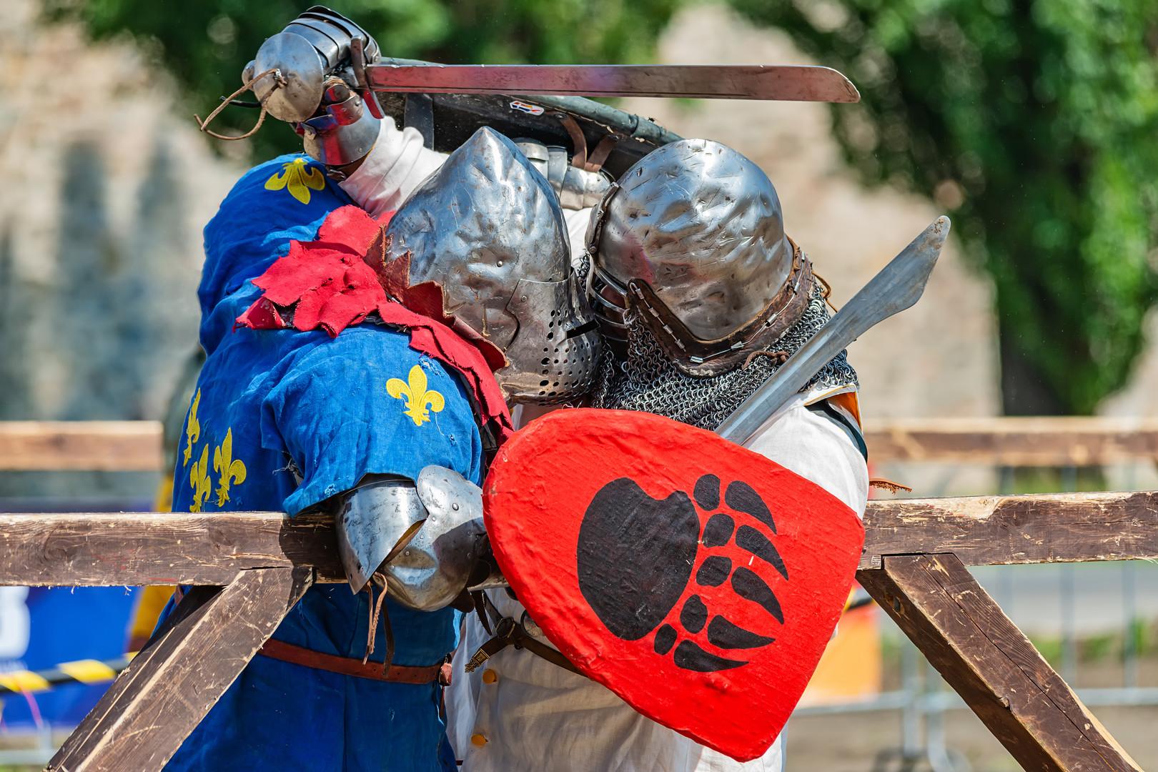 Borba srednjevekovnih vitezova