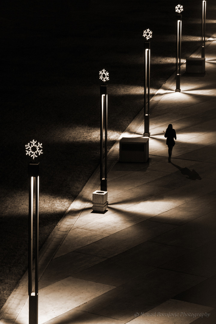 Walking in the dark ( Setnja u mraku )