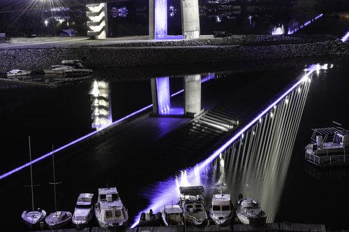 NenadBorojevicFoto Ada Bridge ( Most na Adi )