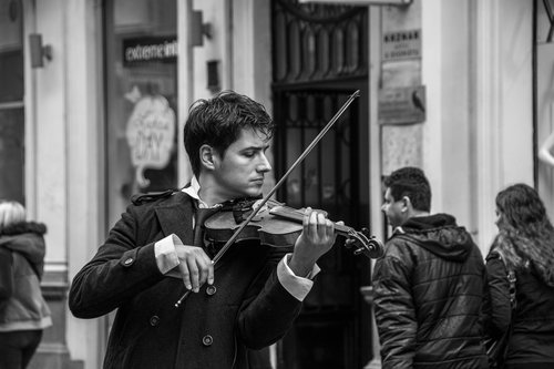 NenadBorojevicFoto A Street Musician ( Ulični muzičar )