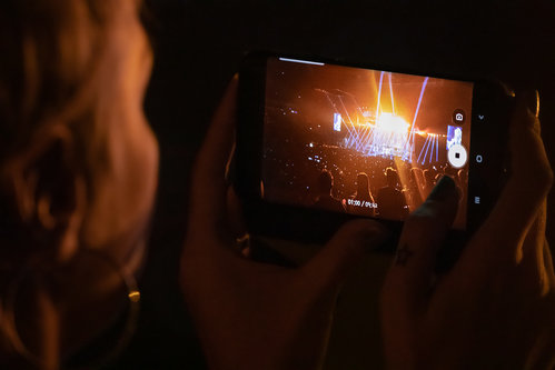 Nenad_Ristic Enjoying A Concert In The Smartphone Age...