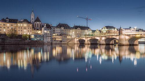 Nenad_Ristic Evening lights in Basel...
