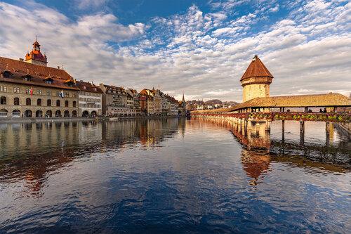 Nenad_Ristic Golden Bridge in Lucerne...
