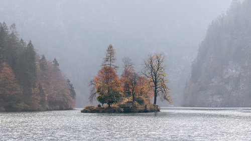 Nenad_Ristic Mysterious island on Lake Konigssee...