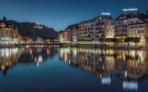 Nenad_Ristic Quiet evening in Lucerne...
