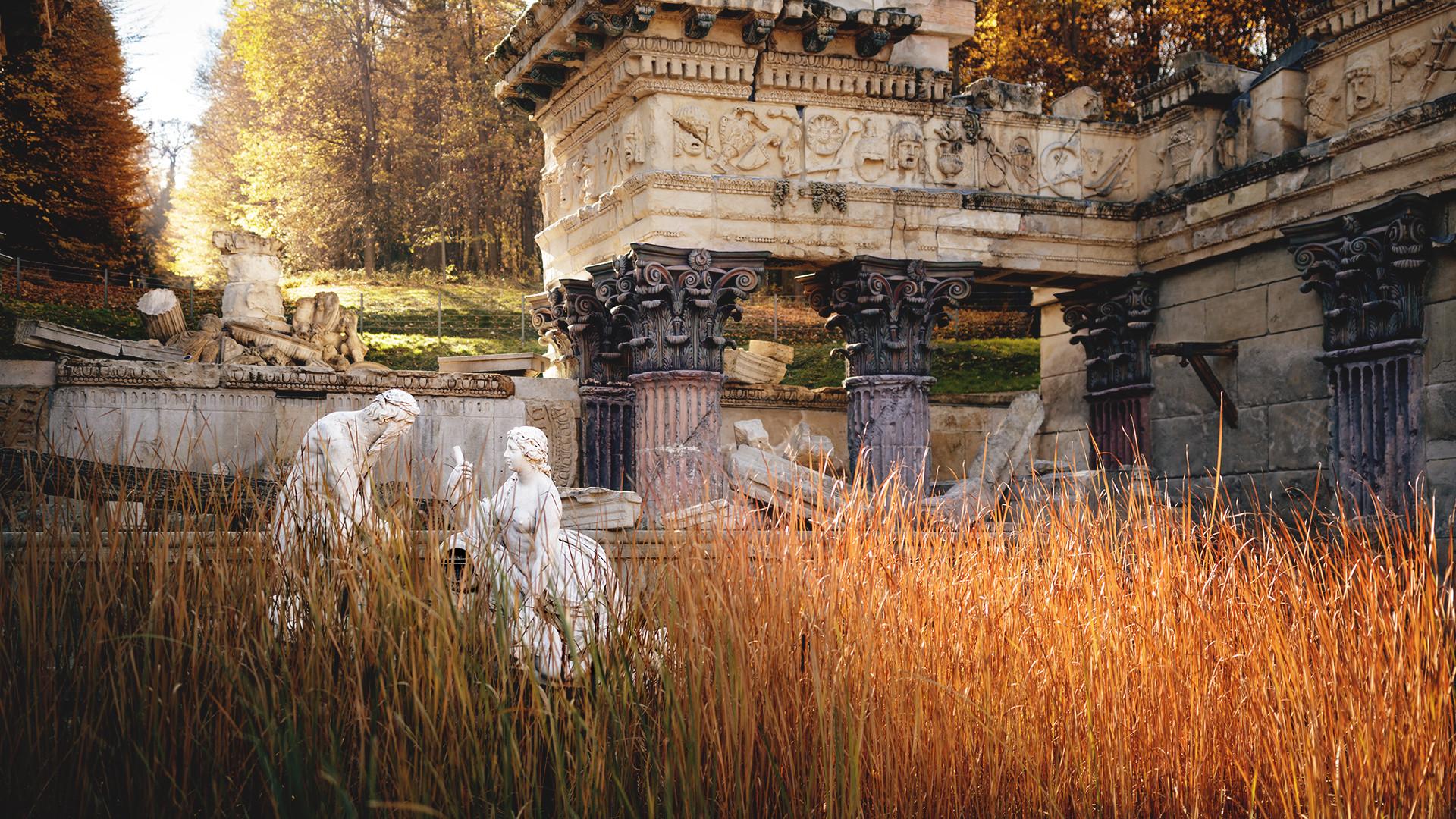 Wien    Römische Ruine...