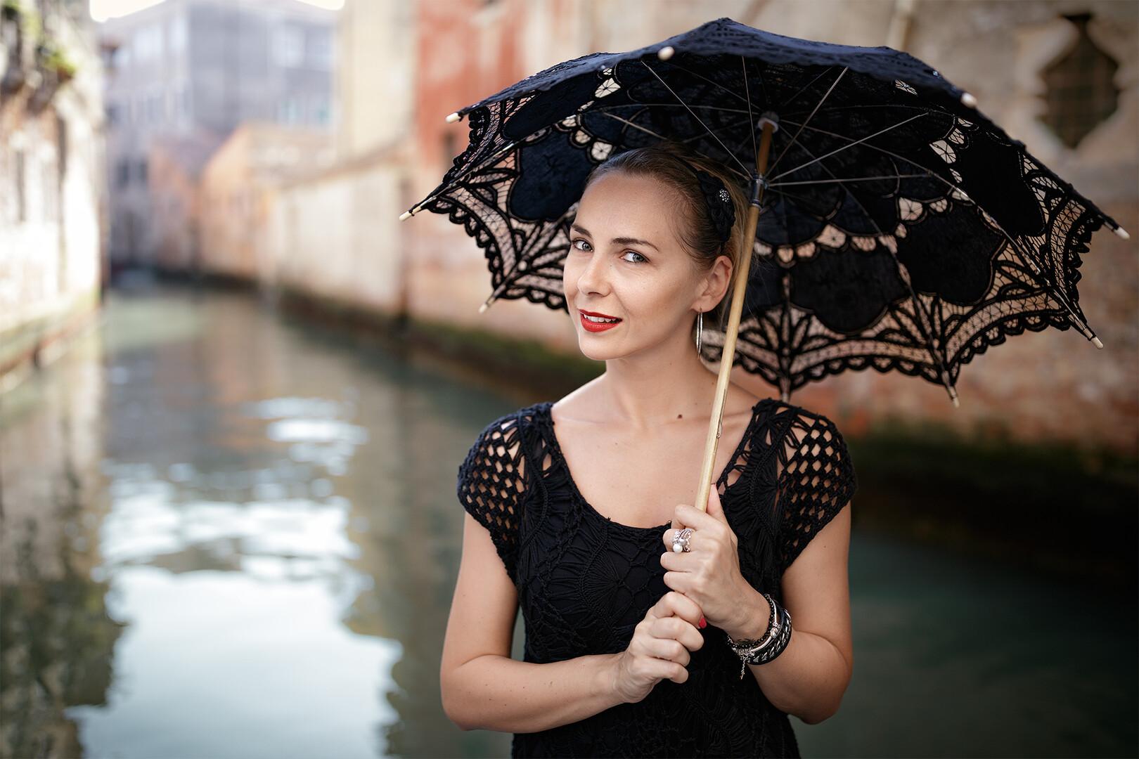 Lady in Venice...