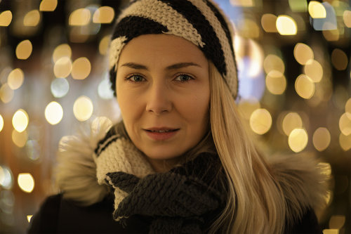 Nenad_Ristic Serious lady in a magic golden night...