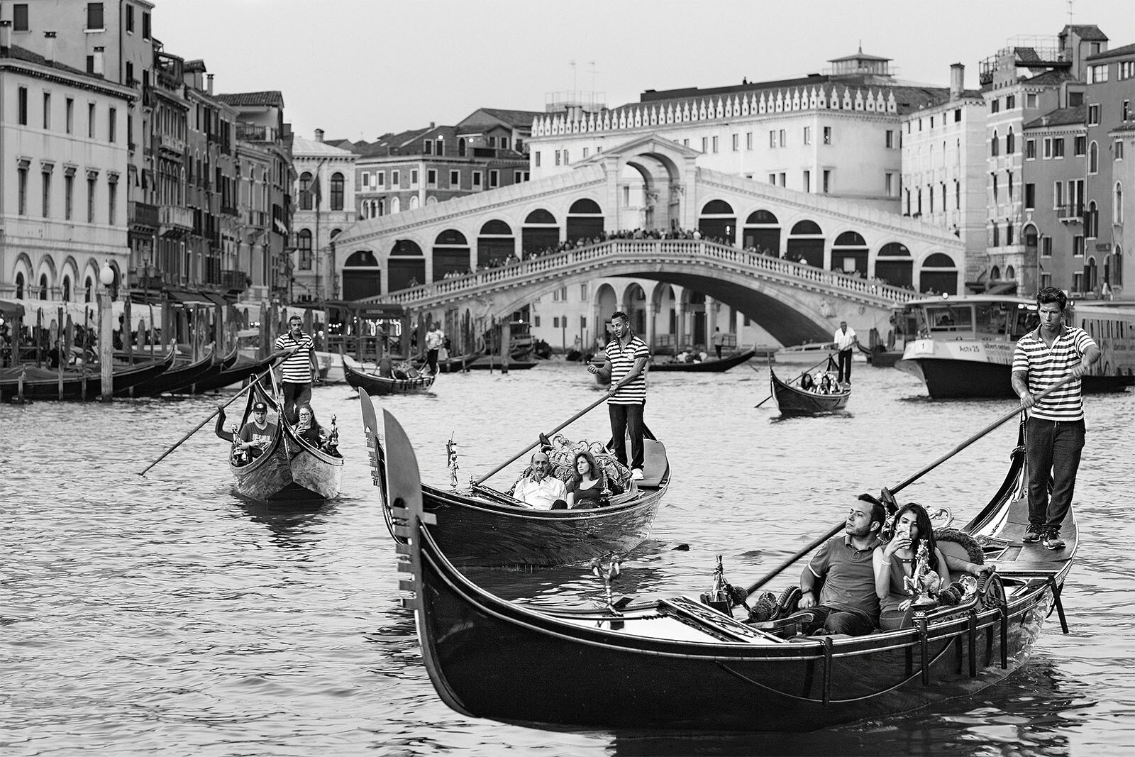 Gondola Races on the Grand Canal...