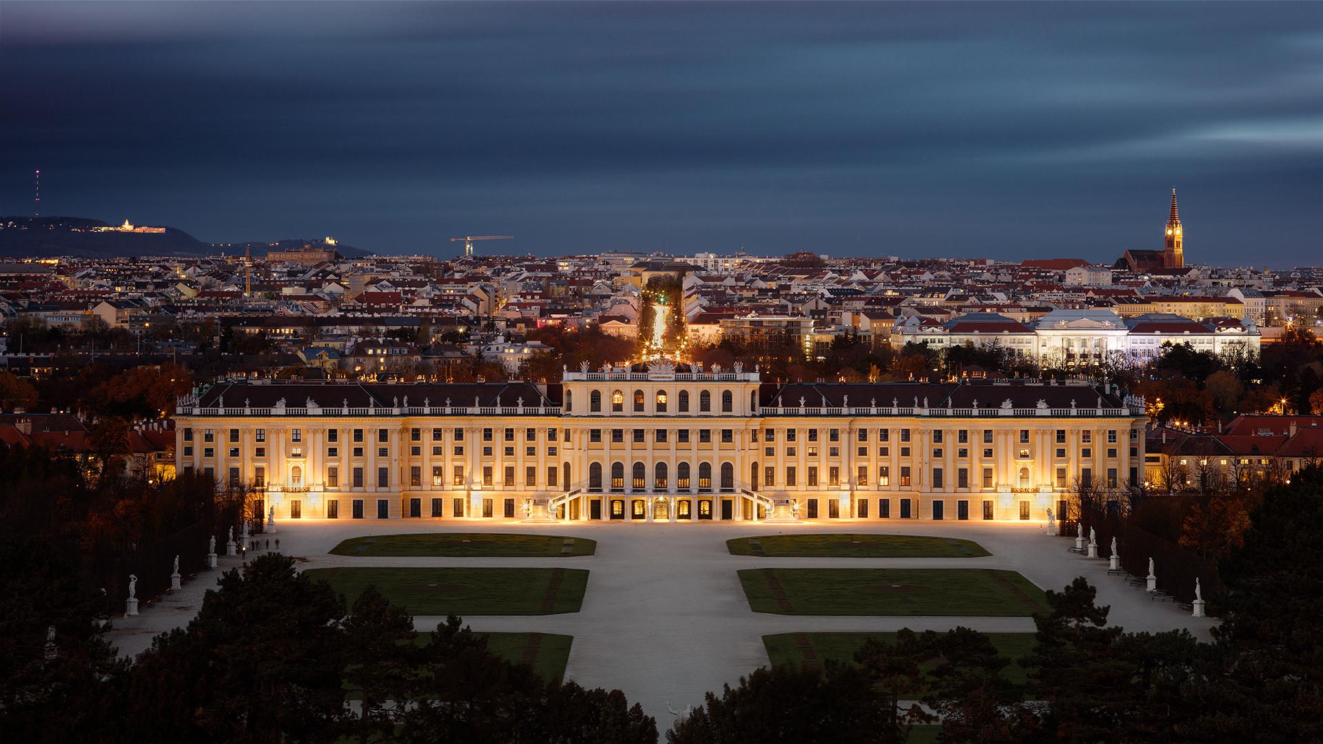 Schönbrunn Palace...
