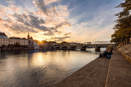 Nenad_Ristic Sunset in Basel...