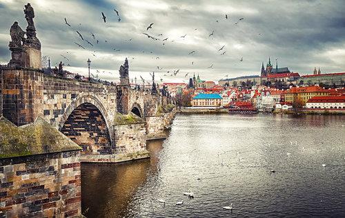 Nermin Karlov most - Prag