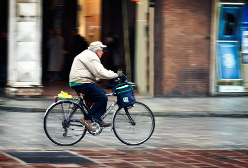 Nermin Never old for bike