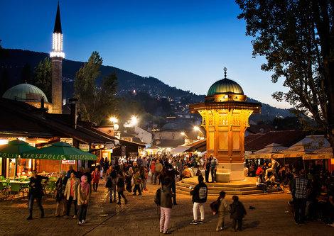 Nermin Sarajevo - Baščaršija u sumrak