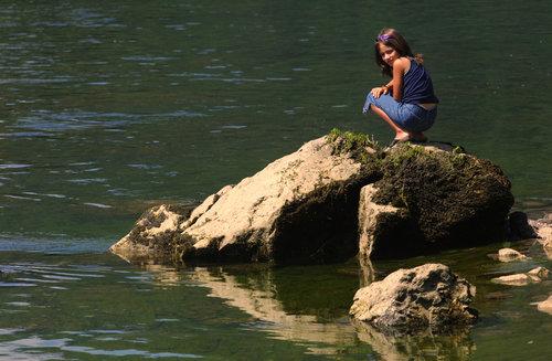 Pajo-foto Sirena sa Drine
