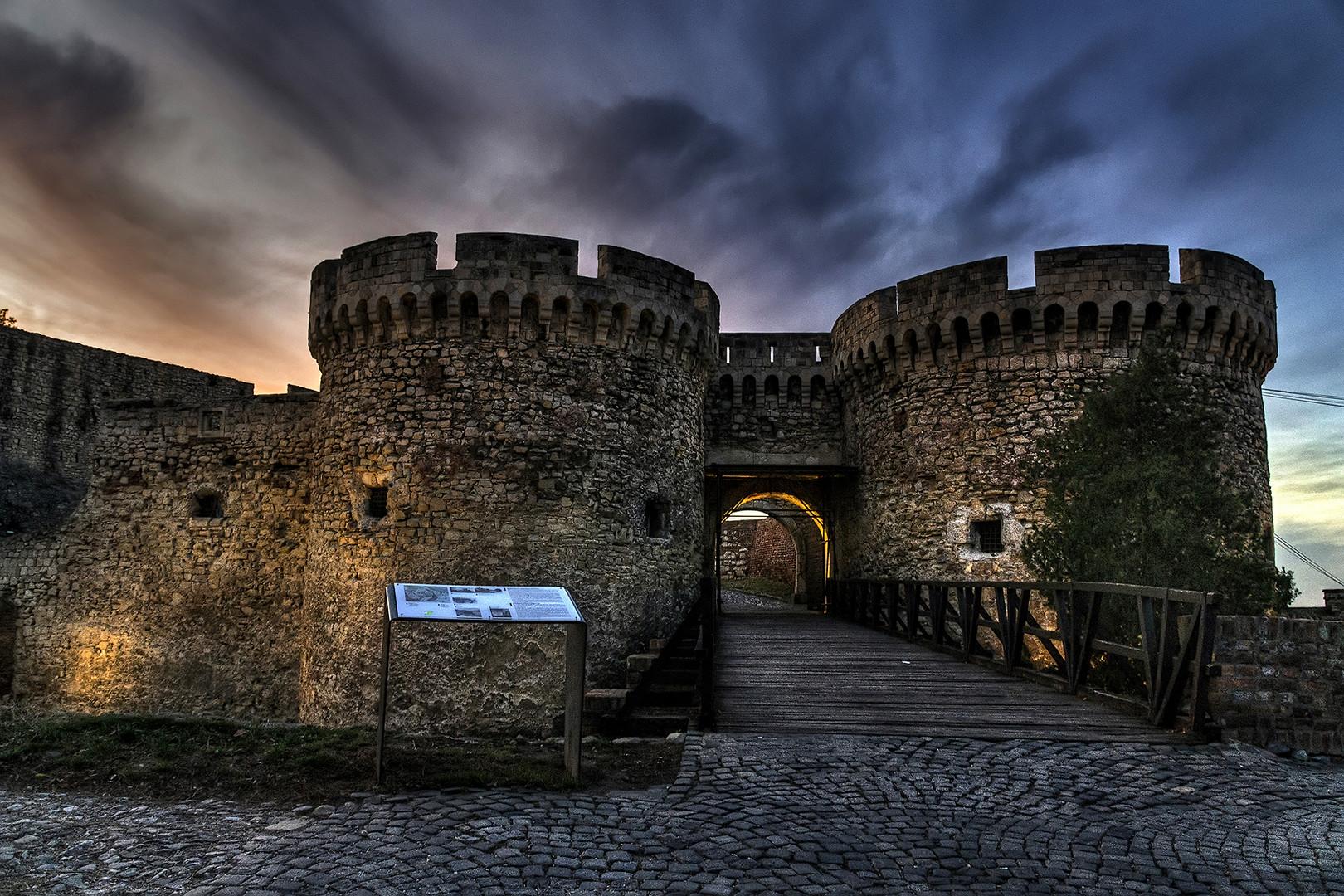 Kalemegdan fortress.