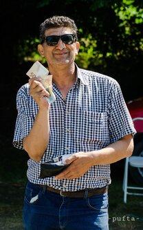 Pufta Man with money