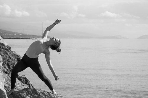 Pukylly Gimnastika kraj mora