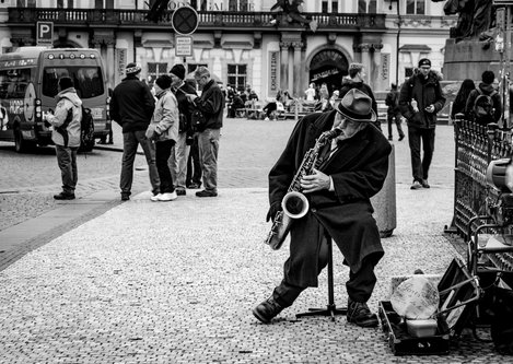 Salex Sax in Prague