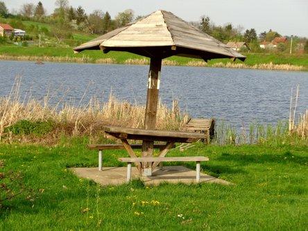 Sima33 pecurka kraj jezera