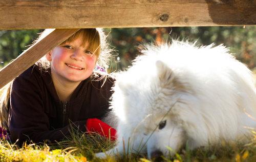 Smailhodzic Djevojčica i pas