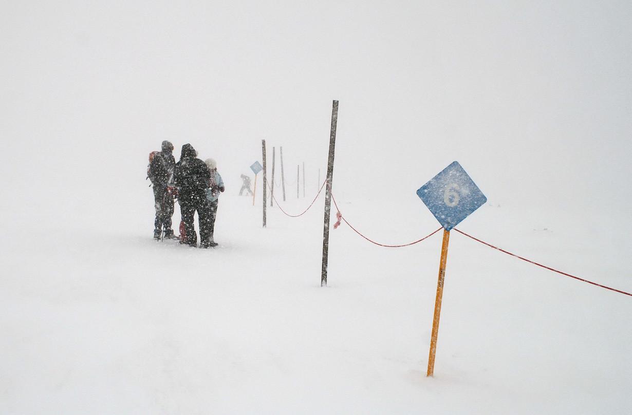 Izgubljeni u snežnoj oluji