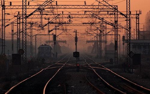Steva Sumrak na železničkoj