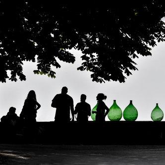 TamaraRi Green bottles