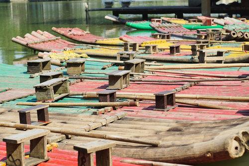 Thalabai Bamboo rafts