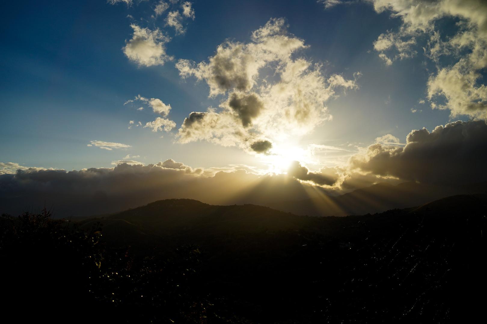 Dawn in Calabria