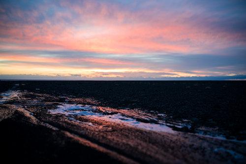 Thalabai Iceland sunset