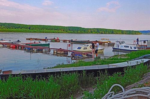 TheLadyD Život na Dunavu teče