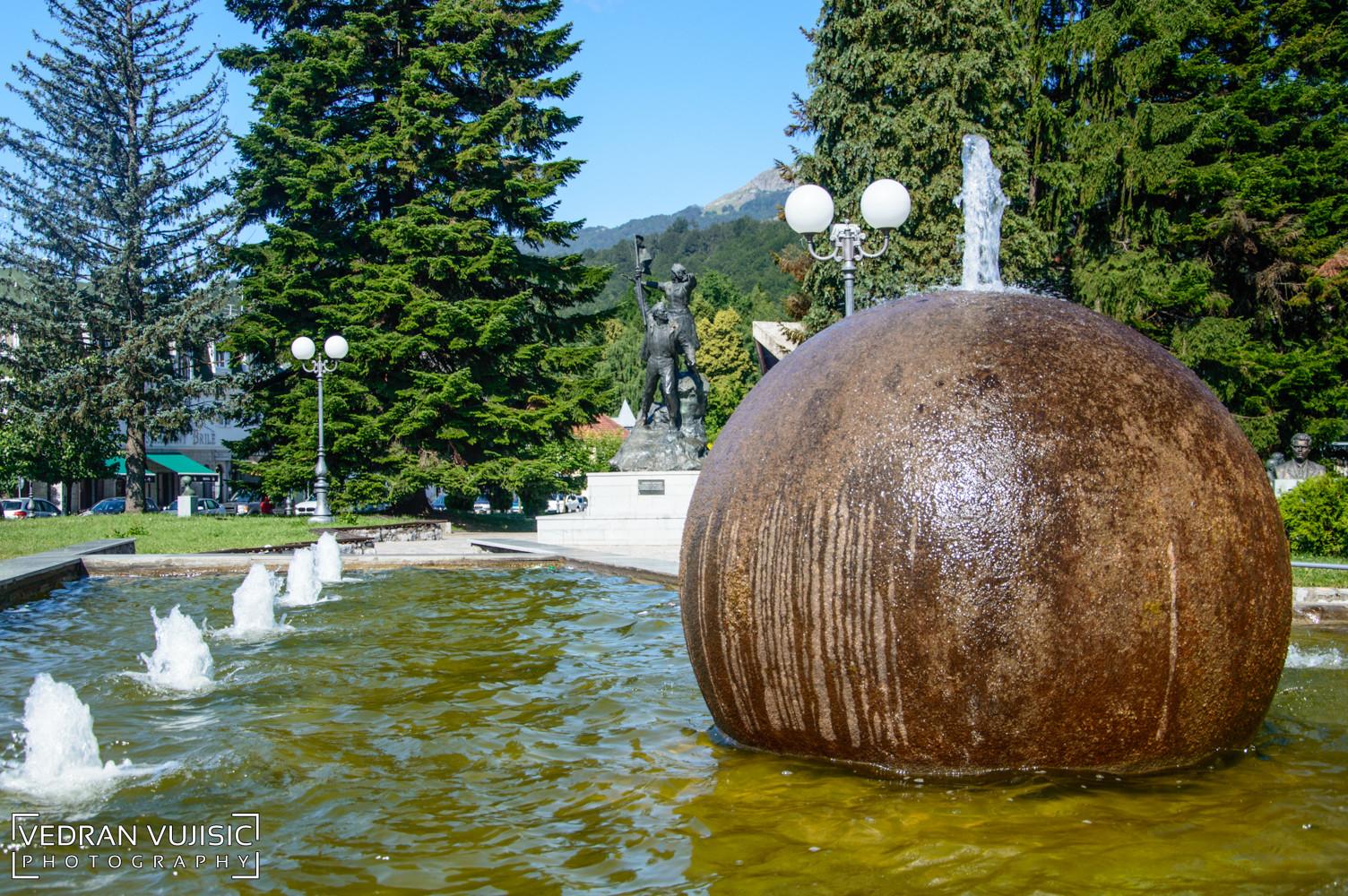 Fontana u Kolašinu