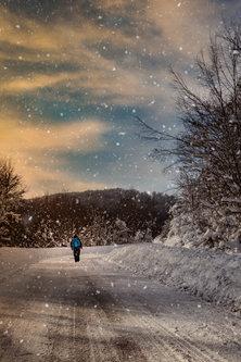 Vladimir Snow walk