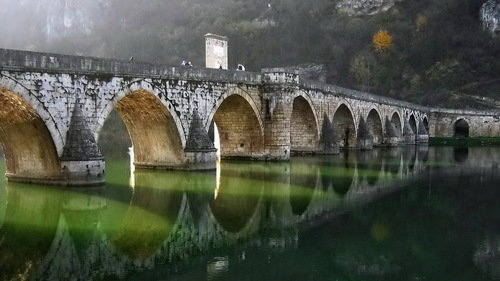 VladimirMijailovic Bridge on the Drina