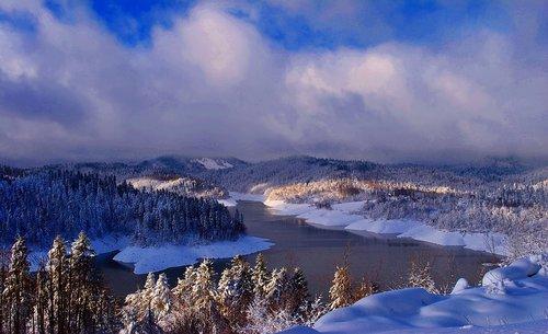 Zoran Zima, jezero Lokve, Gorski kotar