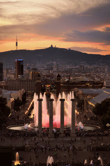 _jugosloven BARCELONA, Magic Fountains