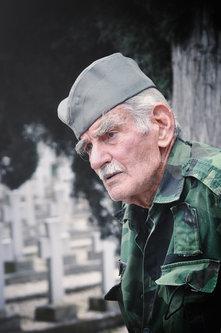 _jugosloven DJORDJE MIHAJILOVIC, cuvar srpskog vojnickog groblja u Solunu