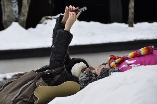 andreotti Radosti na snegu