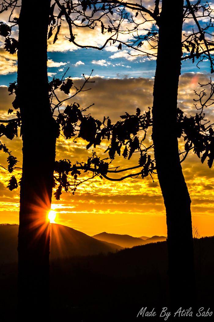 Sunrise. Zlatibor.
