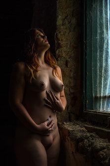 blackbird Žena pored prozora