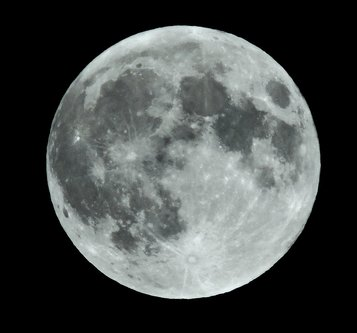 blamir Pun mjesec iznad Sherbrooke