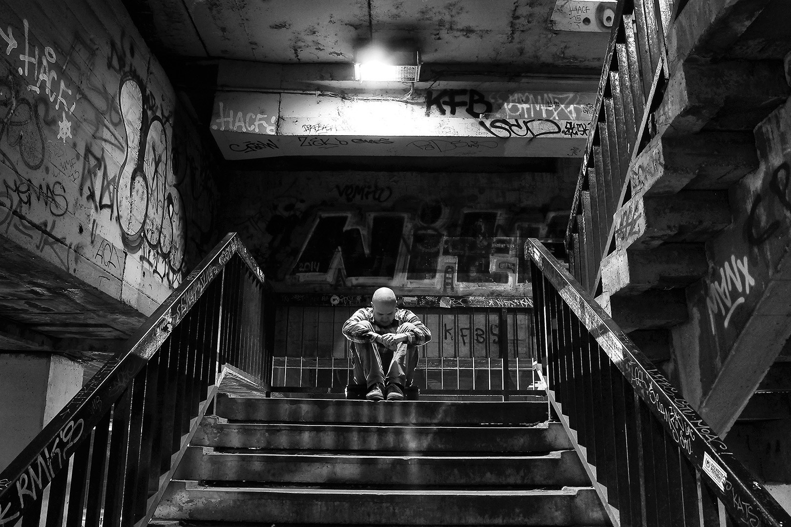 Bedak na stepenicama