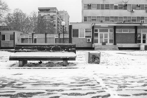 boki73 Novi Beograd i sneg