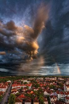 bygilles Pod oblakom, kiša