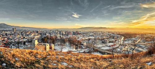 bygilles Zimska panorama